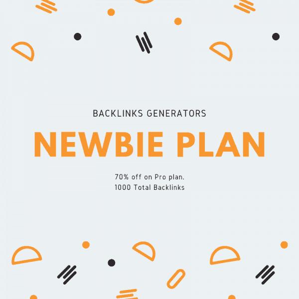 backlinks generators noob plan