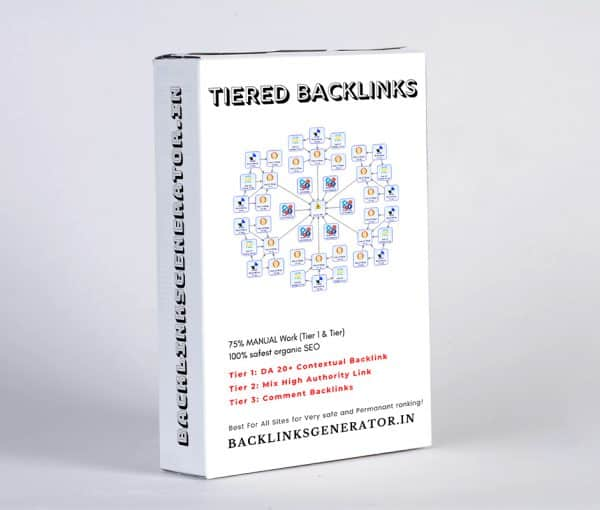 Tiered Contextual SEO Backlinks Product Image