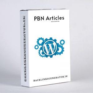 PBN Articles